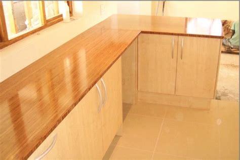 Hometalk  Bamboo Countertops