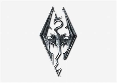 Skyrim Elder Scrolls Icon Background Transparent Tes