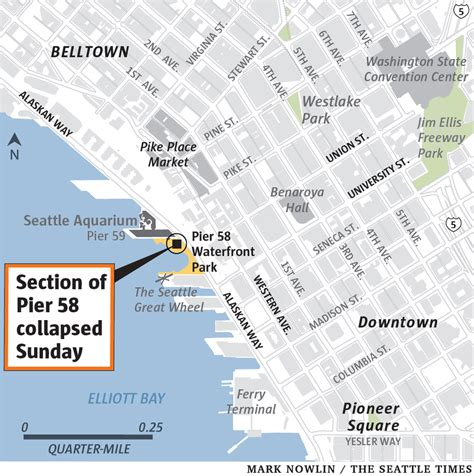 Part of Pier 58 collapses on Seattle waterfront, injuring ...