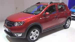 Defaut Dacia Sandero : dacia sandero stepway 1 5 dci 2015 exterior and interior in 3d youtube ~ Medecine-chirurgie-esthetiques.com Avis de Voitures