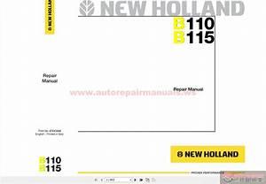 Keygen Autorepairmanuals Ws  New Holland Backhoeloader