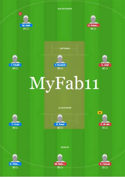 Vs Fantasy Trs Th Tallinn Team T10