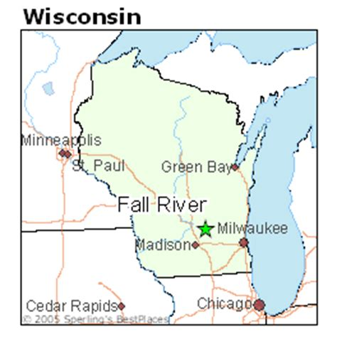 places    fall river wisconsin
