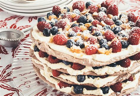 chocolate macadamia pavlova stack kitchen