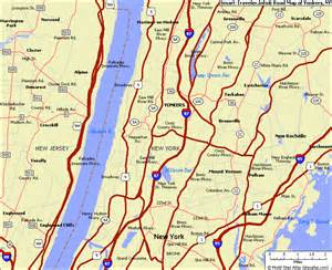 Yonkers New York Map