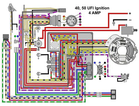 omc ignition switch wiring diagram  hp