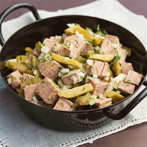 rindfleischsalat rezept kuechengoetter