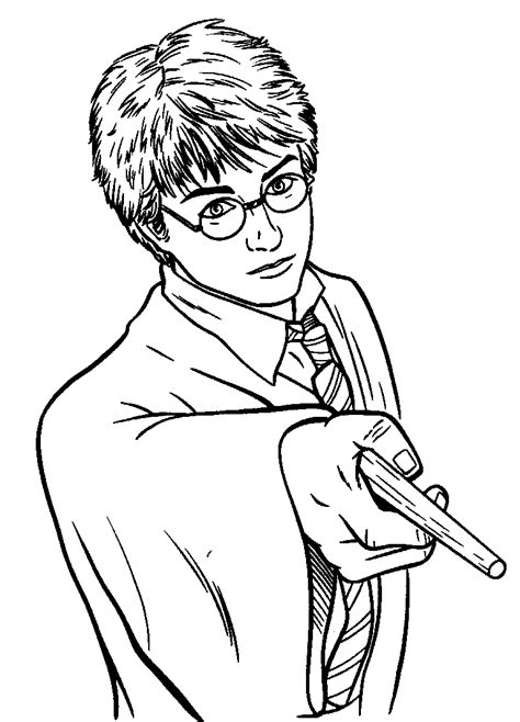 coloring pages harry potter animated images gifs pictures animations