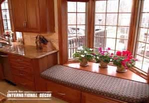 kitchen bay window decorating ideas design kitchen with bay window basic tips