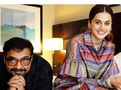 Taapsee Pannu supports Anurag Kashyap amid #MeToo ...