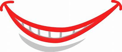Smile Vector Teeth Clip Clker Clipart Royalty