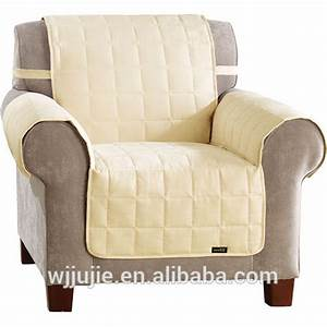 Plain style and quilted pattern quilted sofa cover throw for Furniture covers patterns