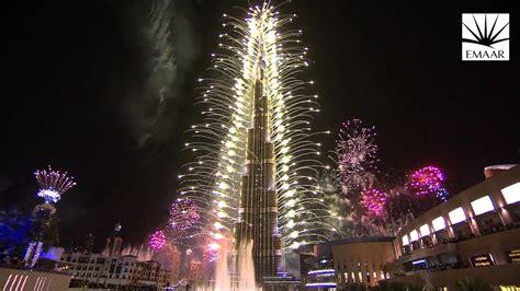 official burj khalifa downtown dubai   years eve