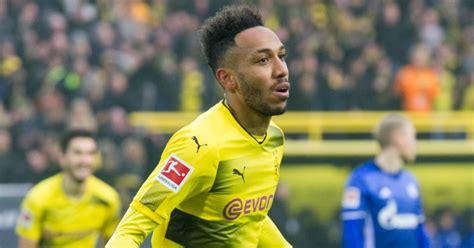Borussia Dortmund striker Pierre-Emerick Aubameyang is ...