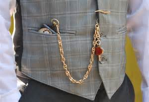 How to Wear Vest with Pocket Watch
