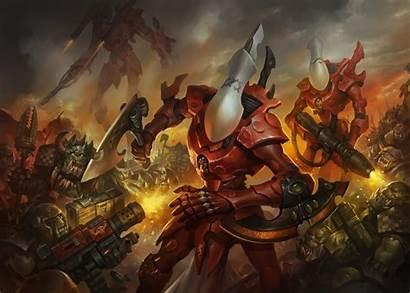 Eldar Warhammer 40k Orks Ghost Wraithguard Warriors