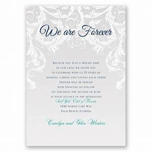 We are forever vow renewal invitation invitations by dawn for Free printable wedding vow renewal invitations