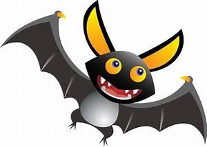 Clipart - Cute Cartoon Bat
