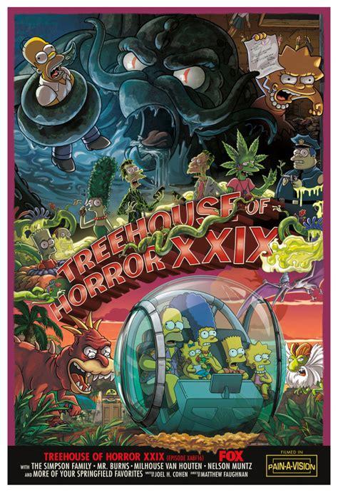 Treehouse Of Horror Xxix  Simpsons Wiki  Fandom Powered