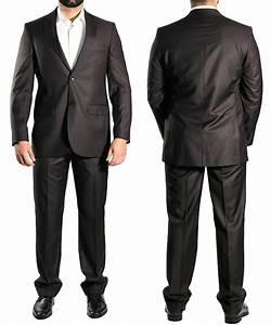 Anzug Auf Rechnung : 130 muga slim fit herren anzug dunkelbraun ebay ~ Themetempest.com Abrechnung
