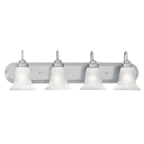 4 bulb vanity light shop thomas lighting 4 light homestead brushed nickel