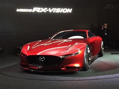 mazda rx vision concept hints   rotary engine