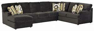 sectional sofa with left side chaise by klaussner wolf With sectional sofa with left side chaise