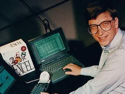 Bill Gates Microsoft Excel