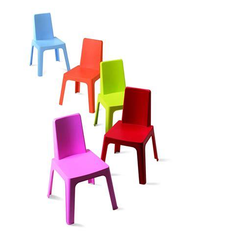 chaise 3 en 1 chaise pour enfants en résine injectée julieta panaché