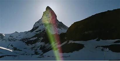 Matterhorn Zermatt Coronavirus Hope Village Onto Flags