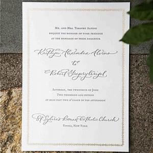 Wedding etiquette advice martha stewart weddings for Wedding invitations wording martha stewart