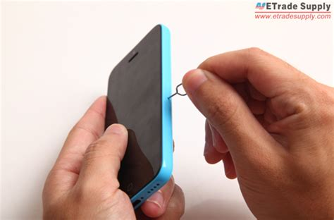 Without the tray and i have inserted it in the normal sim slot. How to Fix a Cracked iPhone 5C Screen