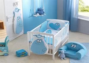 deco chambre bebe garcon bleu visuel 6 With deco chambre de bebe garcon