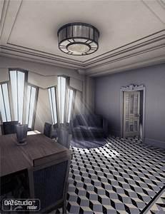 Maison Art Deco : maison cubiste for classic deco eclectic 1 3d models and 3d software by daz 3d ~ Preciouscoupons.com Idées de Décoration
