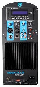 250 Watt Rms Pro Audio Powered Speaker Amplifier Plate