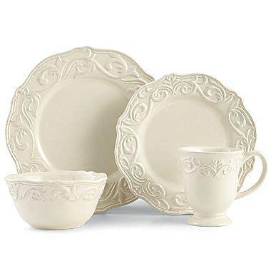 chris madden corvella  pc dinnerware set jcpenney