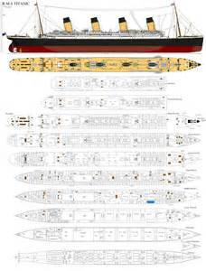 deck layout of the titanic images