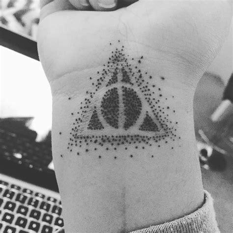 hallows tattoos  wrist