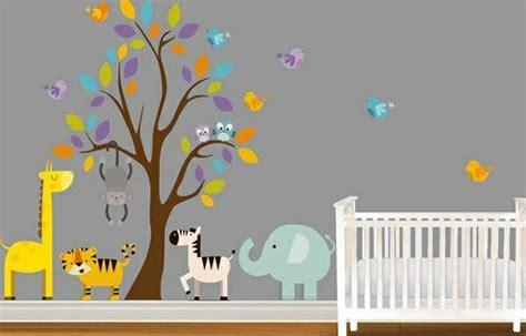 Babyzimmer Gestalten Wandtattoos by Babyzimmer Wandgestaltung 15 Wanddeko Ideen Mit Tieren