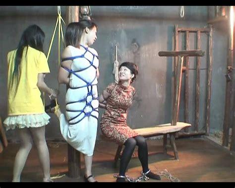 china bdsm photo: bondage studio shoot