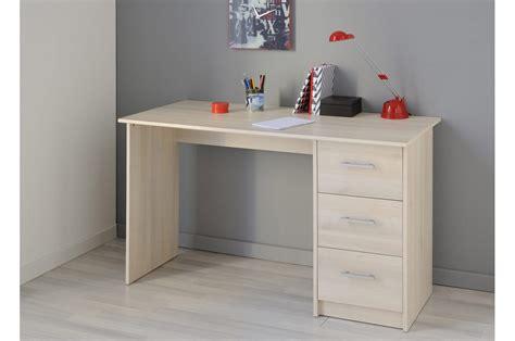 bureau bois de bureau de chambre bois acacia clair trendymobilier com