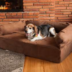 snoozer luxury dog sofa dog couch microsuede fabric