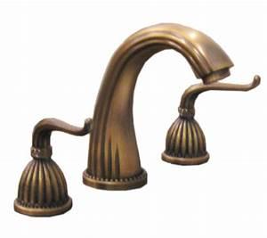 Standard 8 Inch Brass Bathroom Vanity Faucet UVLFZT1078A A