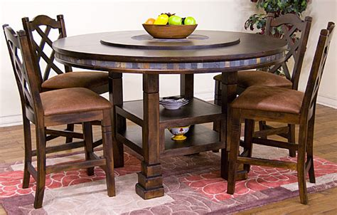 santa fe collection santa feadjustable dining table dc