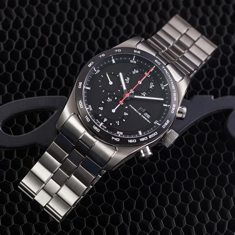 porsche design hands on porsche design chronotimer series 1 all titanium