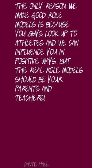 Good Role Model Quotes