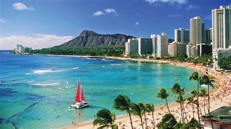 hawaii city beach desktop wallpaper khd