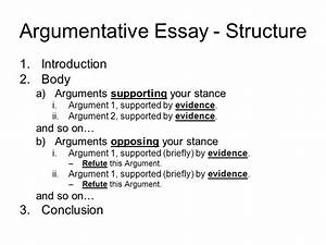 Structure For Argumentative Essay Sustainable Development Essays  Structure For Argumentative Essay