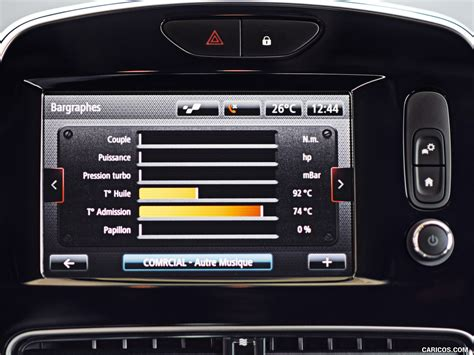 Renault Clio R S Backgrounds by 2017 Renault Clio R S 200 Edc Central Console