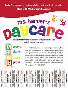 Free daycare flyers follow lauren ashley barnes for Daycare flyers templates free